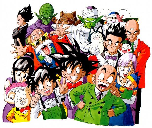 Tags: Anime, Toriyama Akira, Toei Animation, DRAGON BALL, DRAGON BALL Z, Master Roshi, Oolong, Bulma Briefs, Puar, Trunks Briefs, Chaozu, Krillin, Kami (DRAGON BALL)