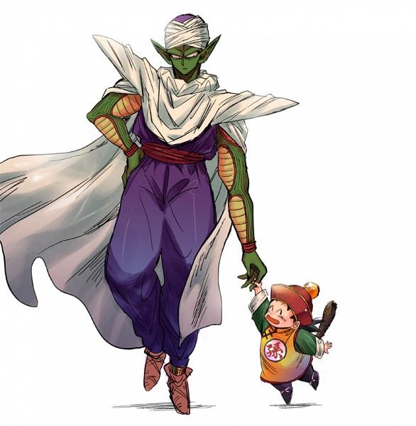 Tags: Anime, Pixiv Id 887058, DRAGON BALL, DRAGON BALL Z, Son Gohan, Piccolo, Dragonball (Object), Pixiv, Fanart From Pixiv, Fanart, Namekian