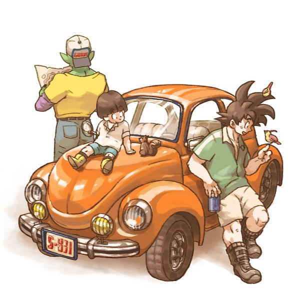 Tags: Anime, Makumaku, DRAGON BALL, DRAGON BALL Z, Son Gohan, Piccolo, Son Goku (DRAGON BALL), Fanart, Pixiv, Fanart From Pixiv, Namekian