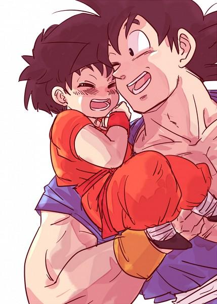 Tags: Anime, Pixiv Id 1132359, DRAGON BALL, DRAGON BALL Z, Pan (DRAGON BALL), Son Goku (DRAGON BALL), Grandfather And Granddaughter, Granddaughter, Fanart, Mobile Wallpaper, Pixiv, Fanart From Pixiv