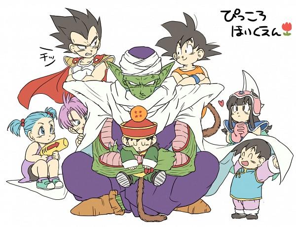Tags: Anime, Pixiv Id 3168648, DRAGON BALL, DRAGON BALL Z, Son Gohan, Son Goku (DRAGON BALL), Trunks Briefs, Vegeta, Son Goten, Chi-Chi, Piccolo, Bulma Briefs, Dragonball (Object)