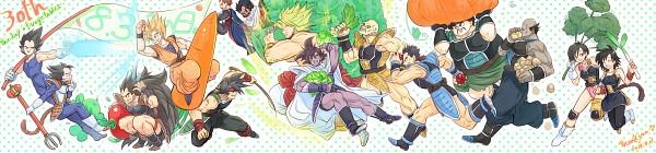 Tags: Anime, Pixiv Id 9744792, DRAGON BALL, DRAGON BALL Z, Tora (Dragon Ball), Vegeta, Turles, Bardock (DRAGON BALL), Nappa, Broly, Tarble, Shugesh, Gine (Dragon Ball)