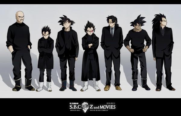 Tags: Anime, Pixiv Id 1255724, DRAGON BALL, DRAGON BALL Z, Tarble, Broly, Raditz, Bardock (DRAGON BALL), Son Goku (DRAGON BALL), Turles, Vegeta, Nappa, Son Gohan
