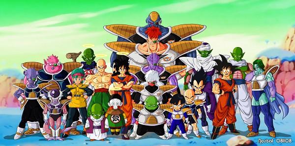 Tags: Anime, DRAGON BALL, DRAGON BALL Z, Vegeta, Dende, Piccolo, Guldo, Cui (Dragon Ball), Ten Shin Han, Piccolo Daimaou, Son Goku (DRAGON BALL), Jeice, Bulma Briefs