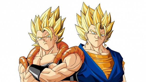 Tags: Anime, DRAGON BALL, DRAGON BALL Z, Son Goku (DRAGON BALL), Vegeta, Gogeta, Vegito, Character Fusion, Potara, Super Saiyan