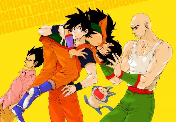 Tags: Anime, Pixiv Id 368833, DRAGON BALL, DRAGON BALL Z, Yamcha (DRAGON BALL), Ten Shin Han, Son Goku (DRAGON BALL), Vegeta