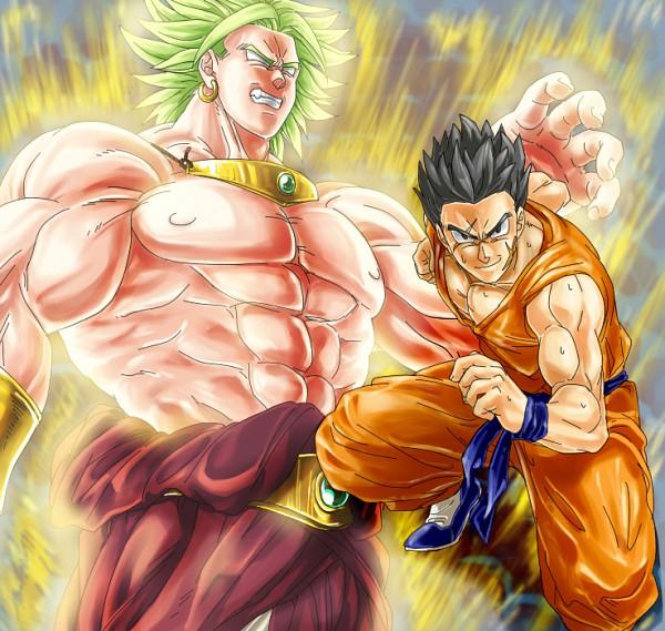 Tags: Anime, Pixiv Id 1029585, DRAGON BALL, DRAGON BALL Z, Yamcha (DRAGON BALL), Broly, Legendary Super Saiyan