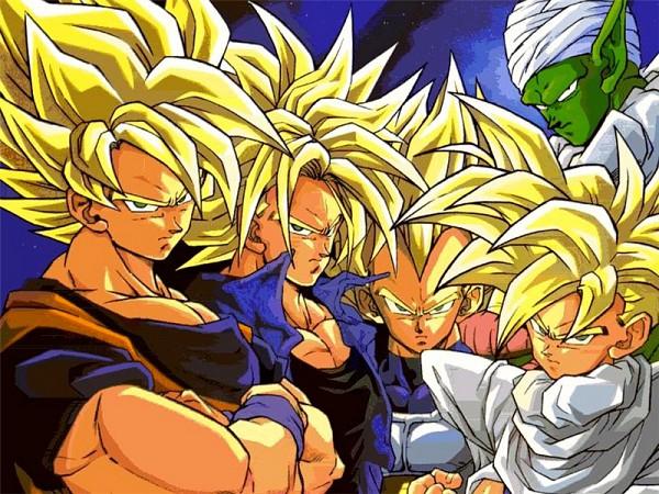 Tags: Anime, DRAGON BALL, DRAGON BALL Z, Piccolo, Son Goku (DRAGON BALL), Vegeta, Son Gohan, Trunks Briefs, Namekian, Super Saiyan