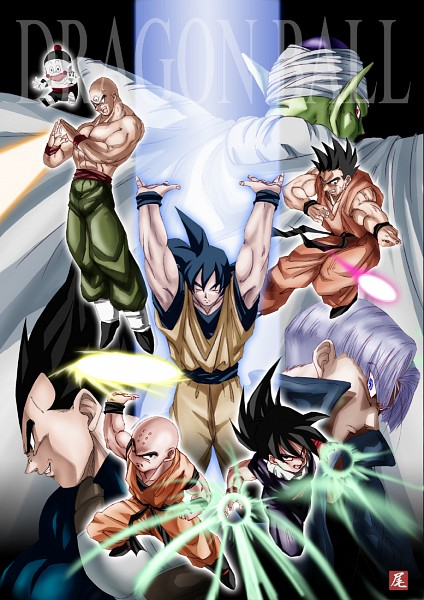 Tags: Anime, DRAGON BALL, DRAGON BALL Z, Son Gohan, Trunks Briefs, Yamcha (DRAGON BALL), Piccolo, Ten Shin Han, Son Goku (DRAGON BALL), Krillin, Vegeta, Namekian