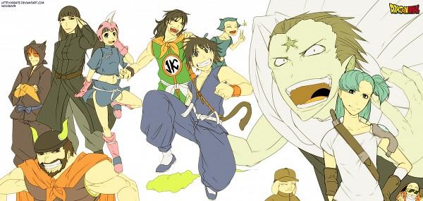 Tags: Anime, Kibate (Artist), DRAGON BALL, Yamcha (DRAGON BALL), Mai (DRAGON BALL), Chi-Chi, Puar, Bulma Briefs, Emperor Pilaf, Master Roshi, Ox King, Oolong, Son Goku (DRAGON BALL)