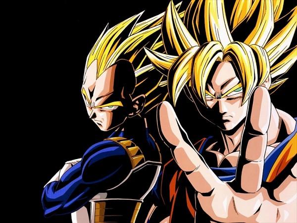 Tags: Anime, DRAGON BALL, DRAGON BALL Z, Son Goku (DRAGON BALL), Vegeta, Wallpaper