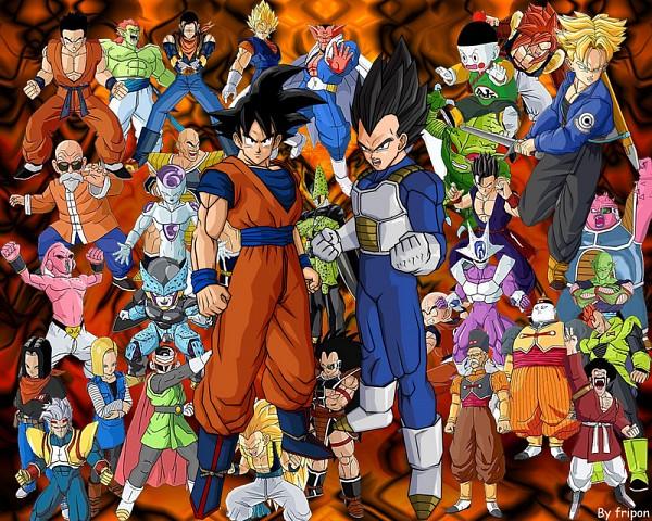 Tags: Anime, DRAGON BALL, DRAGON BALL Z, DRAGON BALL GT, Vegeta, Android 17, Piccolo, Gogeta, Android 18, Majin Buu, Android 20, Son Goku (DRAGON BALL), Mr. Satan