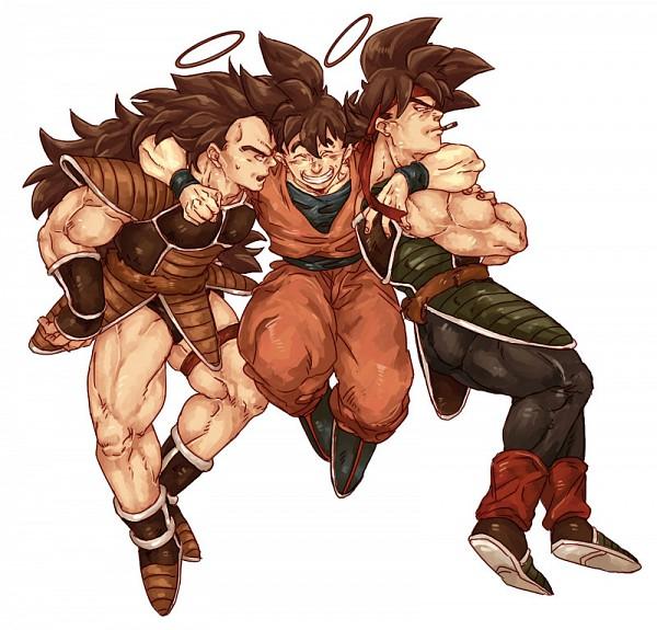 Tags: Anime, Pixiv Id 2137405, DRAGON BALL, DRAGON BALL Z, Bardock (DRAGON BALL), Son Goku (DRAGON BALL), Raditz, Pixiv, Fanart From Pixiv, Fanart