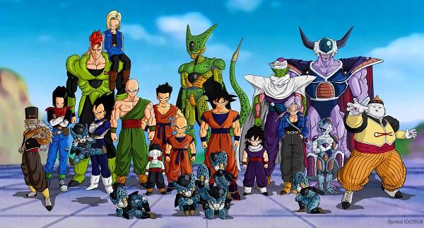 Tags: Anime, Toei Animation, DRAGON BALL, DRAGON BALL Z, Piccolo, Cell (DRAGON BALL), Android 19, Son Goku (DRAGON BALL), Ten Shin Han, Krillin, Frieza, Android 16, Son Gohan