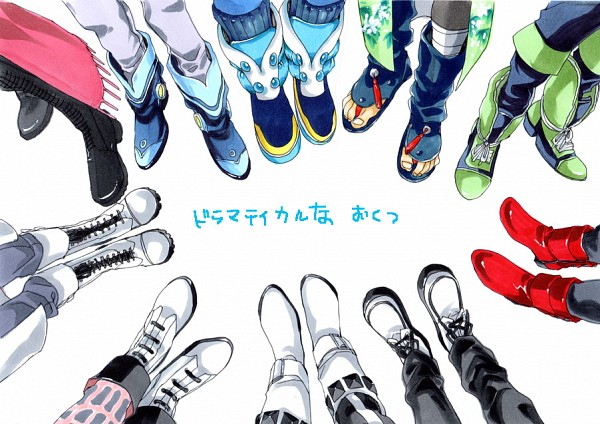 Tags: Anime, Pixiv Id 258648, Nitro+CHiRAL, DRAMAtical Murder, Trip (DMMd), Mink (DMMd), Ren (DMMd), Noiz (DMMd), Virus (DMMd), Seragaki Aoba, Seragaki Sei, Mizuki (DMMd), Koujaku