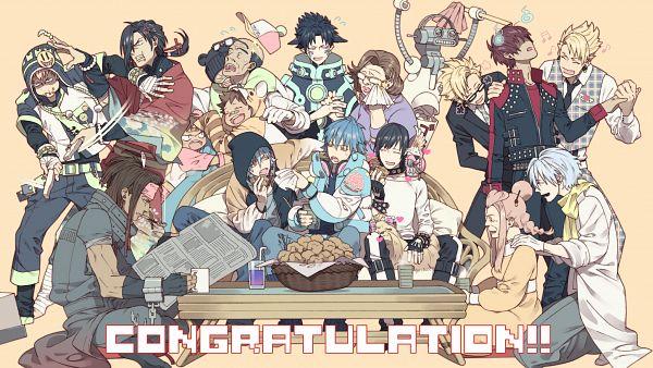 Tags: Anime, Honya Lala, Nitro+CHiRAL, DRAMAtical Murder, Tori (DMMd), Trip (DMMd), Seragaki Sei, Mink (DMMd), Seragaki Tae, Ren (DMMd), Ren (Human), Noiz (DMMd), Kio (DMMd)
