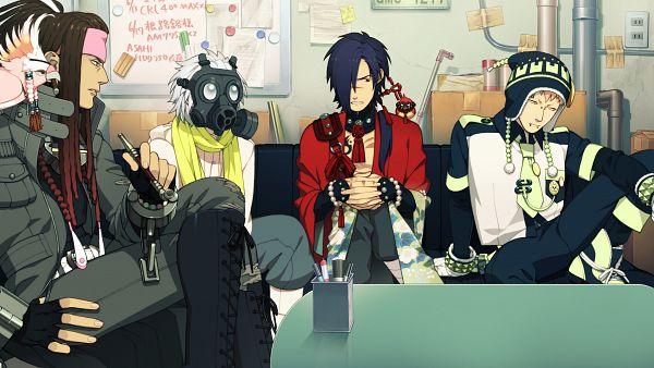 Tags: Anime, Honya Lala, Nitro+CHiRAL, DRAMAtical Murder, Noiz (DMMd), Beni (DMMd), Koujaku, Tori (DMMd), Clear (DMMd), Mink (DMMd), Cockatoo, Parrot, HD Wallpaper
