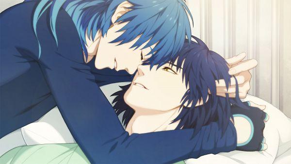 Tags: Anime, Honya Lala, Nitro+CHiRAL, DRAMAtical Murder, Ren (Human), Ren (DMMd), Seragaki Aoba, Official Art, Wallpaper, HD Wallpaper, CG Art, Facebook Cover