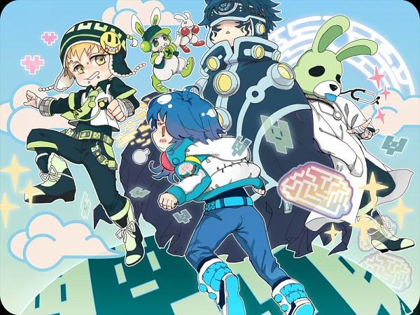Tags: Anime, Pixiv Id 380000, Nitro+CHiRAL, DRAMAtical Murder, Ren (Human), Ren (DMMd), Noiz (DMMd), Seragaki Aoba, Usagimodoki, Fanart From Pixiv, Pixiv, Fanart