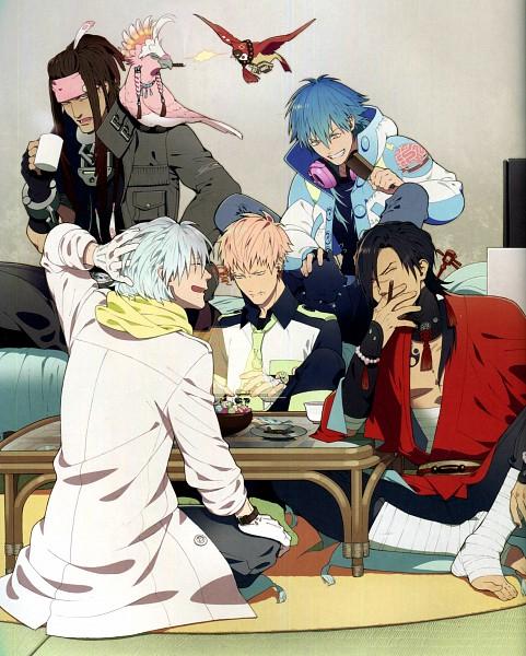 Tags: Anime, Honya Lala, Nitro+CHiRAL, DRAMAtical Murder, Seragaki Aoba, Ren (DMMd), Koujaku, Clear (DMMd), Beni (DMMd), Mink (DMMd), Tori (DMMd), Noiz (DMMd), Cockatoo