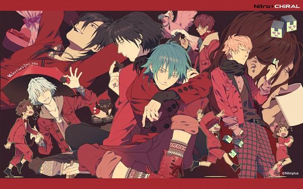 Tags: Anime, Honya Lala, Nitro+CHiRAL, DRAMAtical Murder, Nao (DMMd), Noiz (DMMd), Beni (DMMd), Ren (DMMd), Seragaki Aoba, Tori (DMMd), Mizuki (DMMd), Koujaku, Kio (DMMd)