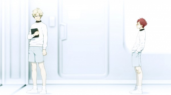 Tags: Anime, Honya Lala, Nitro+CHiRAL, DRAMAtical Murder, Trip (DMMd), Virus (DMMd), CG Art, Facebook Cover, Official Art