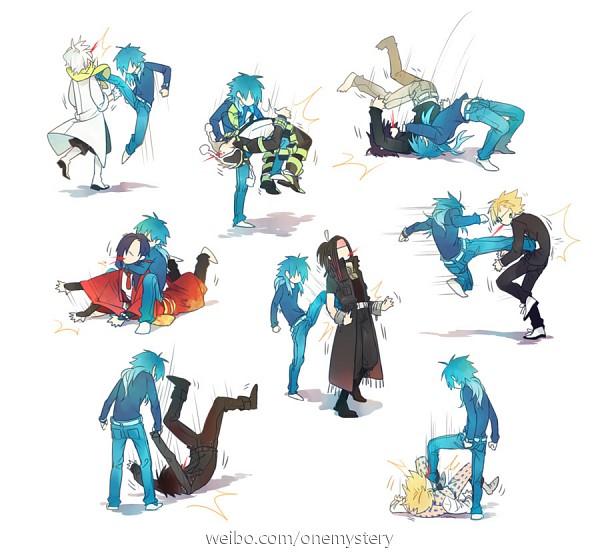 Tags: Anime, Pixiv Id 1217087, Nitro+CHiRAL, DRAMAtical Murder, Virus (DMMd), Seragaki Aoba, Mizuki (DMMd), Koujaku, Ren (Human), Clear (DMMd), Mink (DMMd), Trip (DMMd), Noiz (DMMd)