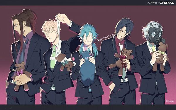 Tags: Anime, Honya Lala, Nitro+CHiRAL, DRAMAtical Murder, Noiz (DMMd), Seragaki Aoba, Ren (DMMd), Koujaku, Clear (DMMd), Mink (DMMd), Official Art, Official Wallpaper, Wallpaper