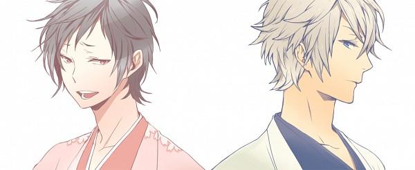Tags: Anime, nicocin, DURARARA!!, Heiwajima Shizuo, Orihara Izaya, Tsugaru, Banner, Fanart, Sakuraya, Fanart From Pixiv, Facebook Cover, Tsugaru Kaikyo Fuyu Geshiki, Pixiv