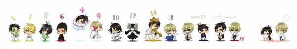 Tags: Anime, Pixiv Id 418830, DURARARA!!, Sonohara Anri, Ryuugamine Mikado, Hibiya, Kida Masaomi, Kadota Kyouhei, Delic, Orihara Izaya, Heiwajima Shizuo, Tsugaru, Psyche