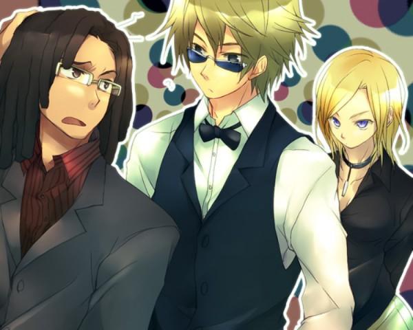 Tags: Anime, Circa, DURARARA!!, Heiwajima Shizuo, Vorona, Tanaka Tom
