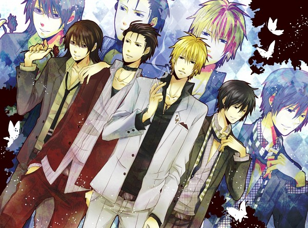 Tags: Anime, Pixiv Id 1143529, DURARARA!!, Heiwajima Shizuo, Kishitani Shinra, Orihara Izaya, Kadota Kyouhei