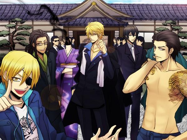 Tags: Anime, DURARARA!!, Tanaka Tom, Kida Masaomi, Sturluson Celty, Heiwajima Kasuka, Kadota Kyouhei, Heiwajima Shizuo