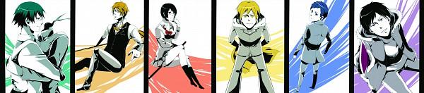 Tags: Anime, Mako, DURARARA!!, Heiwajima Shizuo, Kishitani Shinra, Sonohara Anri, Sturluson Celty, Kida Masaomi, Ryuugamine Mikado, Orihara Izaya, Pixiv