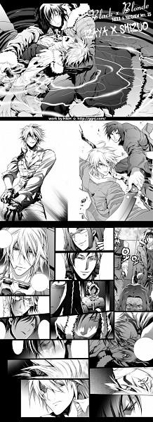 Tags: Anime, H & H, DURARARA!!, Heiwajima Shizuo, Orihara Izaya, Fanart, Pixiv
