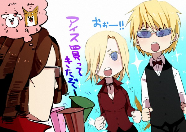 Tags: Anime, Harara, DURARARA!!, Vorona, Tanaka Tom, Heiwajima Shizuo, Pixiv