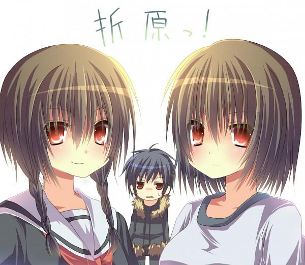 Tags: Anime, Reia (Artist), DURARARA!!, Orihara Kururi, Orihara Mairu, Orihara Izaya, Pixiv