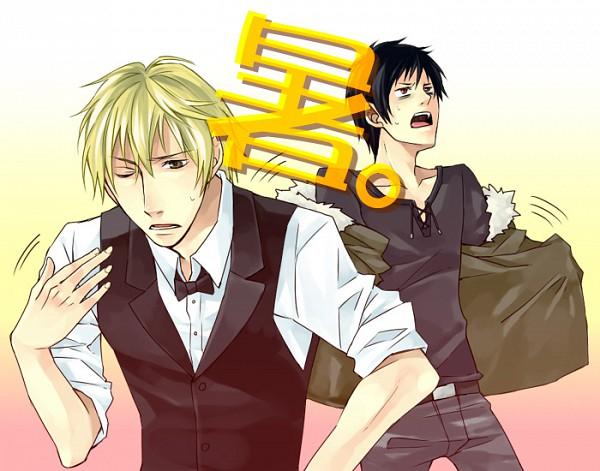 Tags: Anime, Sub, DURARARA!!, Heiwajima Shizuo, Orihara Izaya
