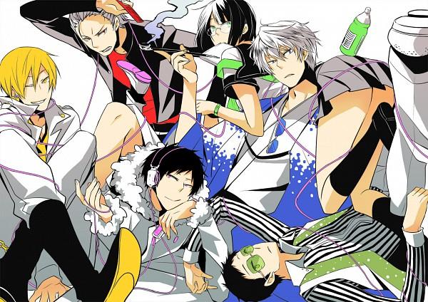 Tags: Anime, Pixiv Id 380989, DURARARA!!, Kadota Kyouhei, Psyche, Heiwajima Shizuo, Sonohara Anri, Tsugaru, Kida Masaomi, Ryuugamine Mikado, Orihara Izaya, Linda Linda, Toki Wo Kakeru Shoujo (Source)