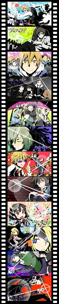 Tags: Anime, Hakyo, DURARARA!!, Tengen Toppa Gurren-Lagann, Yumasaki Walker, Togusa Saburou, Kishitani Shinra, Yagiri Namie, Karisawa Erika, Sonohara Anri, Ryuugamine Mikado, Kadota Kyouhei, Vorona