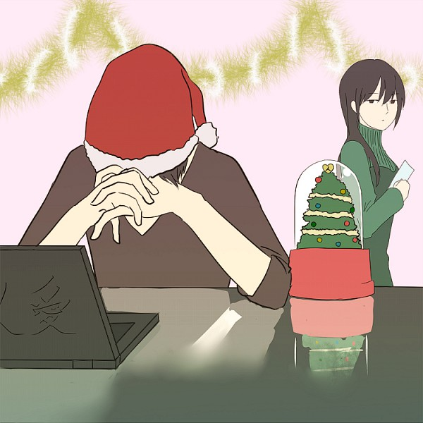 Tags: Anime, Pixiv Id 938166, DURARARA!!, Yagiri Namie, Orihara Izaya, Pixiv