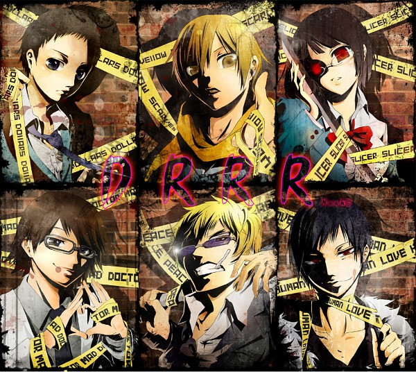 Tags: Anime, Pixiv Id 1577376, DURARARA!!, Heiwajima Shizuo, Kishitani Shinra, Sonohara Anri, Kida Masaomi, Ryuugamine Mikado, Orihara Izaya, deviantART