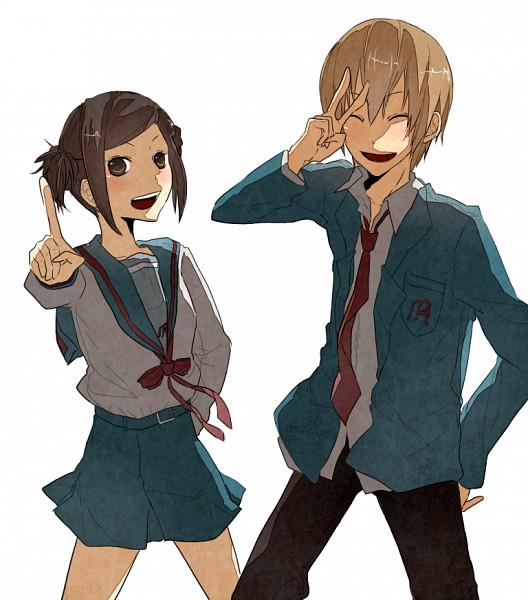 Tags: Anime, DURARARA!!, Suzumiya Haruhi no Yuuutsu, Karisawa Erika, Yumasaki Walker, Suzumiya Haruhi (Cosplay), Pixiv