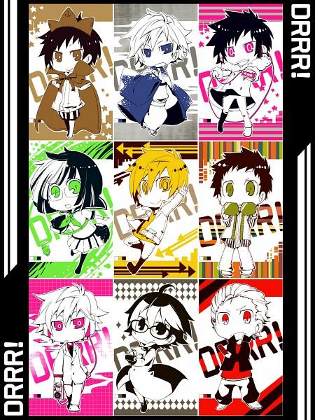 Tags: Anime, Kuro Yuzu, DURARARA!!, Hibiya, Ryuugamine Mikado, Delic, Heiwajima Shizuo, Tsugaru, Kida Masaomi, Psyche, Orihara Izaya, Gakuen Tengoku, Diamonds (DURARARA!!)