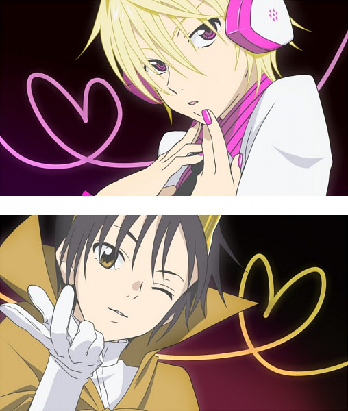 Tags: Anime, DURARARA!!, Hibiya, Delic, Heiwajima Shizuo, Orihara Izaya, Panty and Stocking with Garterbelt (Parody), Psychedelic Dreams, PSG Character Design, Subarashii Hibi