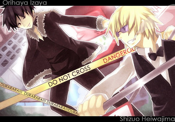 Tags: Anime, DURARARA!!, Orihara Izaya, Heiwajima Shizuo