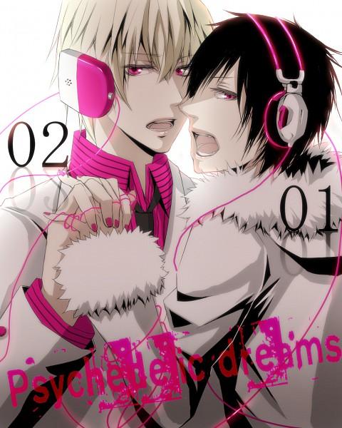 Tags: Anime, Pixiv Id 1291771, DURARARA!!, Delic, Orihara Izaya, Psyche, Heiwajima Shizuo, Pixiv, Psychedelic Dreams