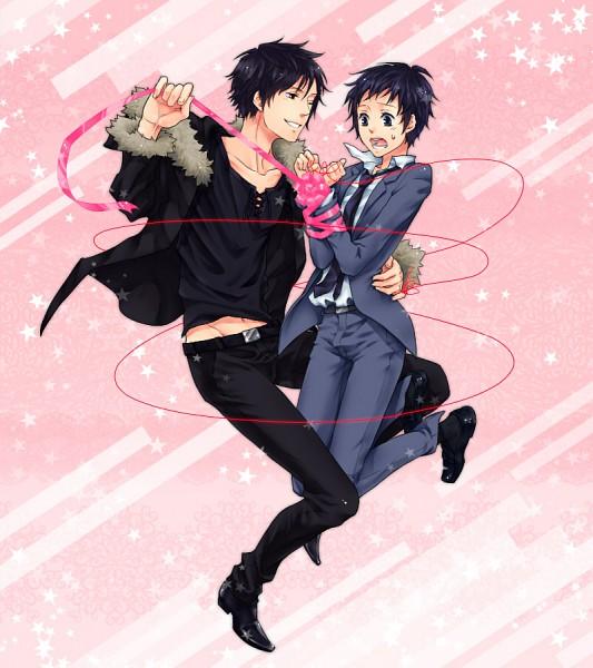 Tags: Anime, DURARARA!!, Orihara Izaya, Ryuugamine Mikado