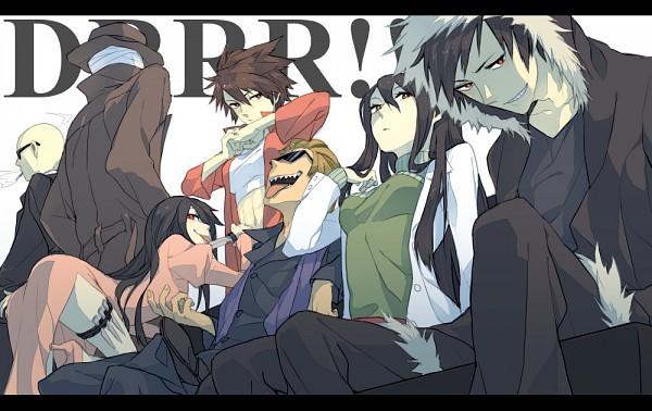 Tags: Anime, Fumiko (Throughx2), DURARARA!!, Niekawa Haruna, Yagiri Namie, Sharaku Mikage, Orihara Izaya, Izumii Ran