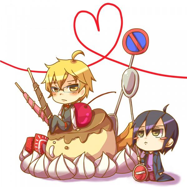 Tags: Anime, Pixiv Id 565648, DURARARA!!, Heiwajima Kasuka, Heiwajima Shizuo, Pixiv